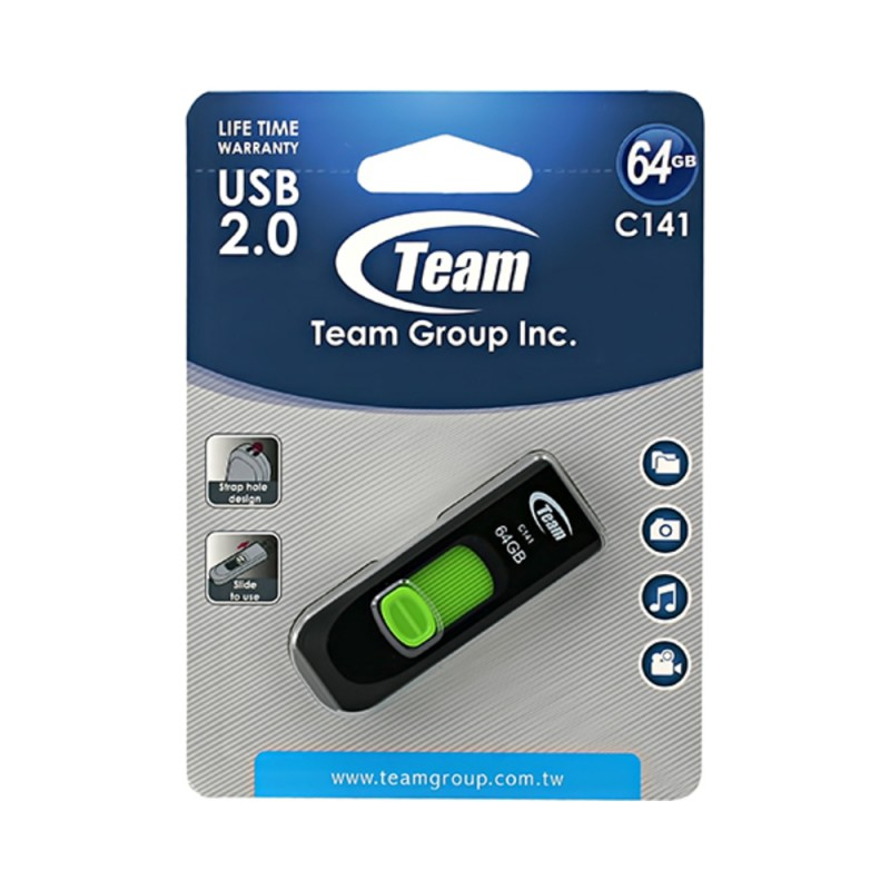 Stick Team C141-64GB (USB2.0)