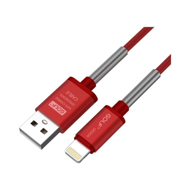 Cablu Golf Thunder Iphone 40I Rosu