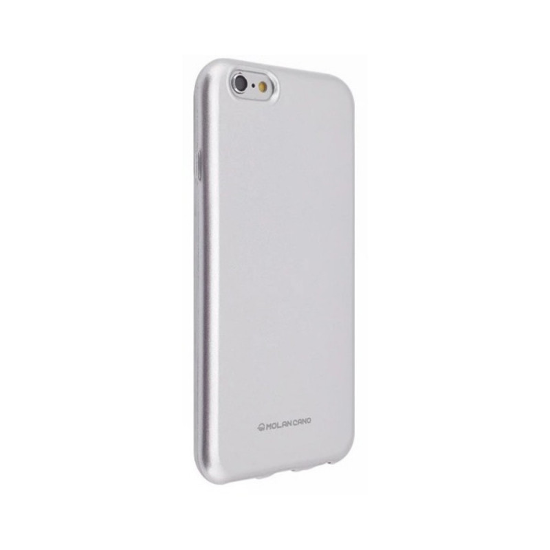 Husa Hana Pearl Huawei Y7P/P40 LiteE Argintiu