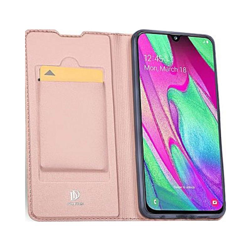 Toc DuxDucis Skin Samsung A40 Rosegold