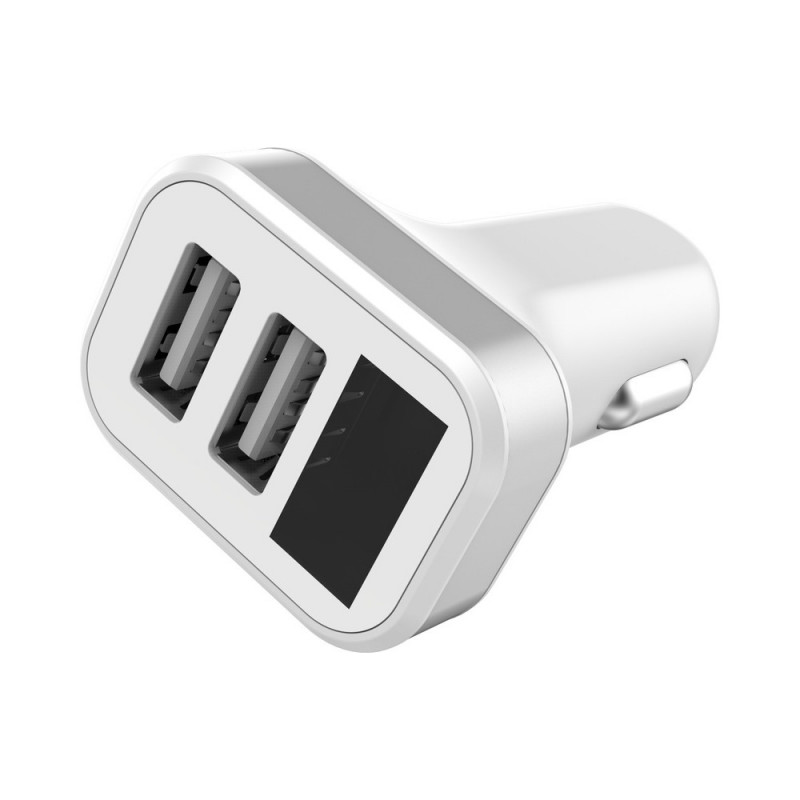 Adaptor Auto Golf C10 2USB/2A/Display