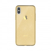 Husa Hana Clear Apple Iphone 11 Pro Auriu