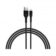 Cablu Devia Long TipC-USB Negru (2m)