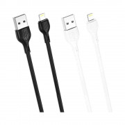 Cablu XO NB200-2M Iphone-USB Alb (2m,2A)
