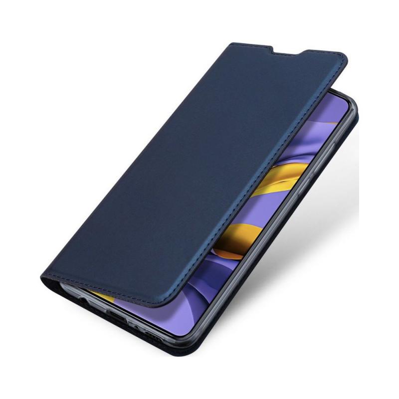 Toc DuxDucis Skin Samsung A71 Albastru