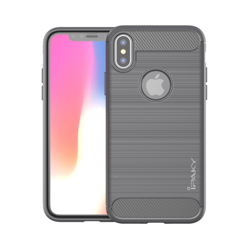 low priced 48fc4 dec24 Back Case Ipaky Concise Apple Iphone X/XS Grey