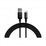 Cablu Golf Soft Micro USB 52M Negru