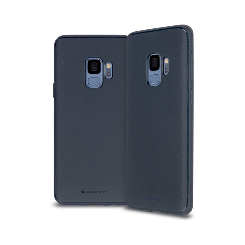 Husa Mercury StyleLux Samsung J4 Plus/2018 Albastru