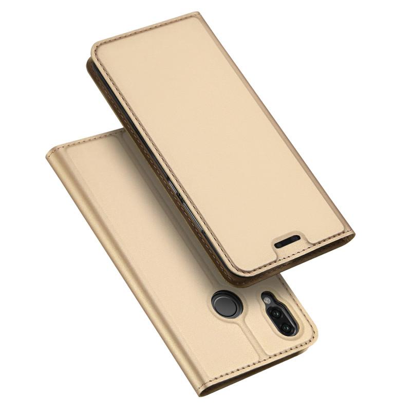 Toc DuxDucis Skin Huawei Y6/2019 Auriu
