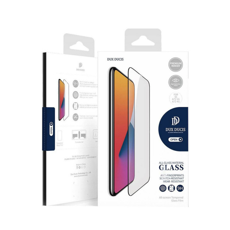 Folie Atlas 3DGlass Samsung A42 5G Negru