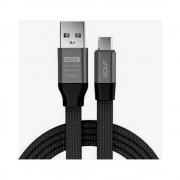 Cablu Golf Memory Micro USB 56M Negru