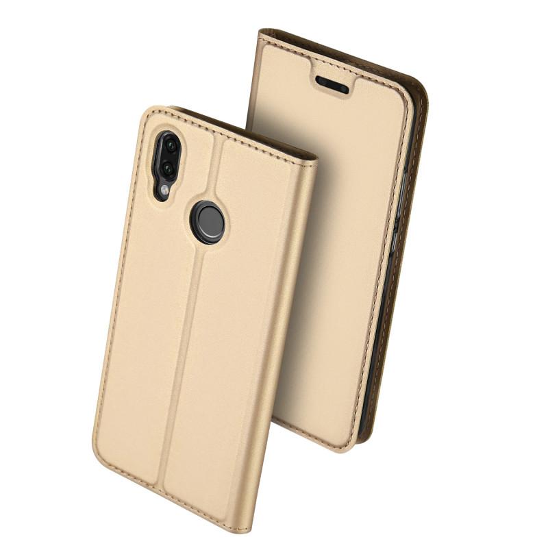 Flip Case Duxducis Skin Huawei P Smart2019 Gold