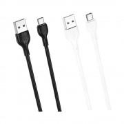 Cablu XO NB200-2M TipC-USB Alb (2m,2A)