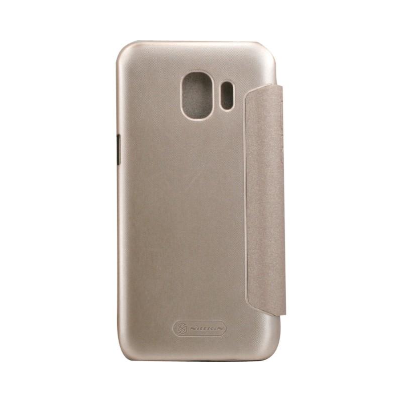 huge selection of 18a22 3e7c1 Flip Case Nillkin Sparkle Samsung J2Pro/2018 Gold