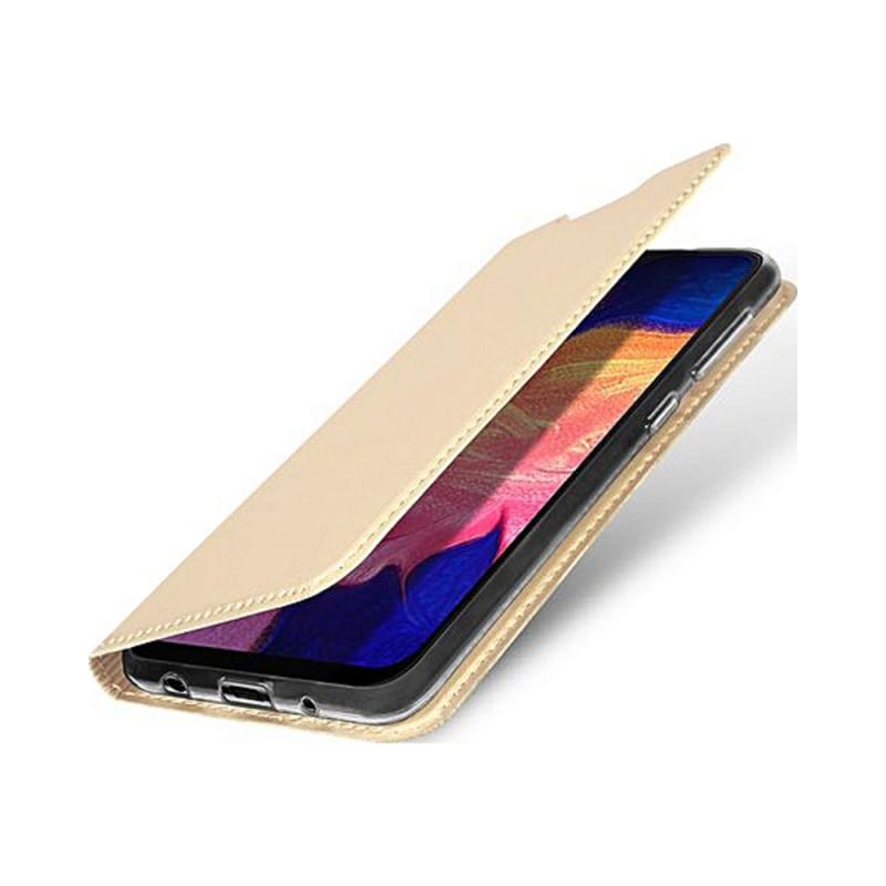 Toc DuxDucis Skin Samsung A10 Auriu